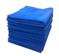 Dry and Polish Microfibre Cloths - Pack of 50 Cloths 40x40cm