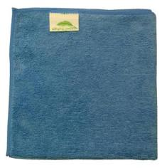 Dry and Polish Blue Microfibre cloths Pack of 10 cloths 40x40cms
