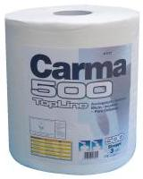Carma Topline 500 Lint Free Wiper Roll 260x360mm 500 Sheets