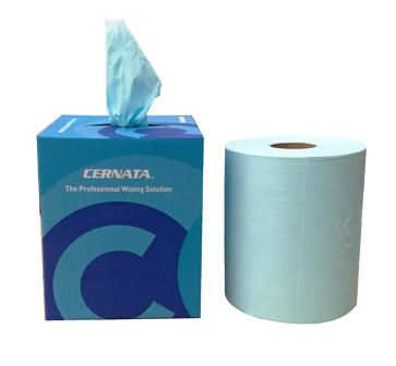 CERNATA� Dry Solvent Wipes Perforated Roll 400 Sheet