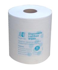 HYGIMAX Cleanroom Wiping Roll - 400 Sheet 30x38cms