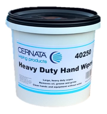 CERNATA� Textured Heavy Duty Hand Wipes (Tub of 150)