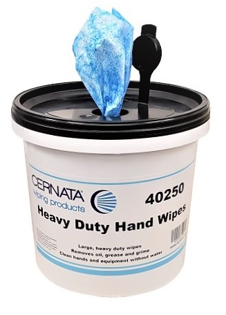 Heavy Duty Abrasive Hand Wipes 28X28CMS 150 SHEETS
