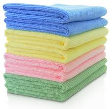 Maxigleam® Microfibre Cloths 40x40cms Mixed Colours