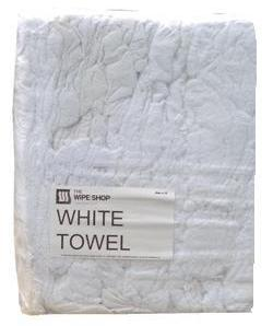 White Towelling Rag-Finest Laundry Quality packed in a 10kg Bag