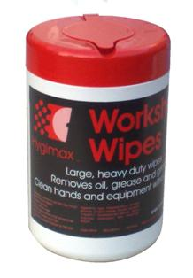 HYGIMAX  Workshop Wipes Handy Tub of 50 Large Wipes