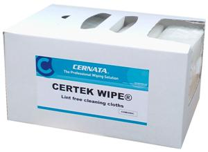 CERTEK™ LINT FREE CLEANING CLOTHS BOX OF 200 30x38cms