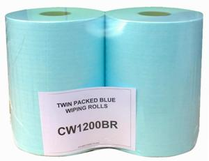CERTEK� Plus Wiping Roll 2 x 400 Sheet Rolls 30x38cm