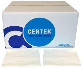 CERTEK� Precision Wipes 400 1/4 FOLD WIPES 30x38cms WHITE