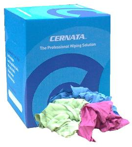 CERNATA� 5kg Coloured Cotton Polish Cloth