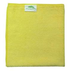 Dry and Polish Yellow Microfibre cloths Pack of 10 cloths 40cms