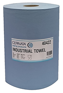 Cernata XXL 3Ply Blue Roll 1000 Sheets Pack of 2