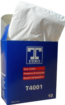 Cotton Tack Cloths By T-Euro - Pack of 10 Cloths 45x35cms