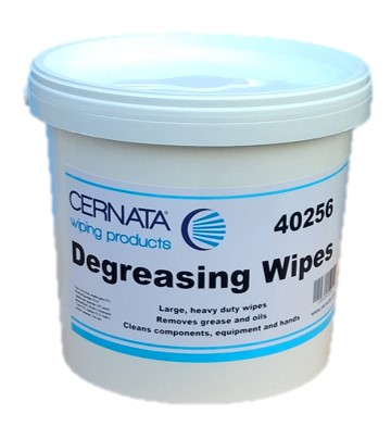 CERNATA™ General Degreasing Wipes Tub of 100