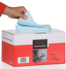 CERTEK Finese Wipes with Dust Capture 30x38cms Case of 400