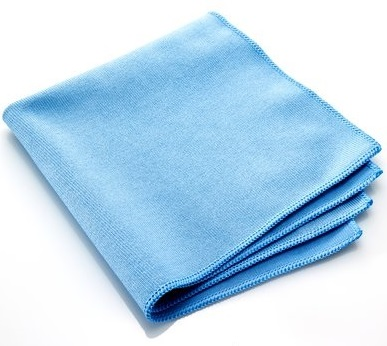 Premium Microfibre Glass Cloths 40x40cms No Tags and Soft Seams