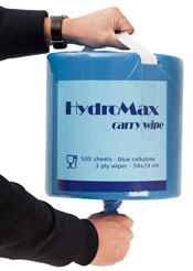 Carma® Hydromax 3ply Maxi Lint Free Wipes on a Roll (pack of 2)