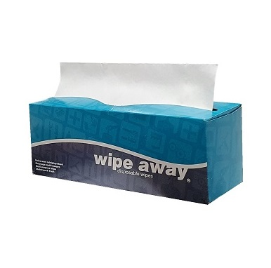 Super Clean Extra Large Lint Free Wipes 42x30cms box of 100