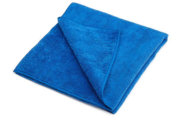 microfibre cloths pack of 50 cloths 40 x 40cm blue. Black Bedroom Furniture Sets. Home Design Ideas