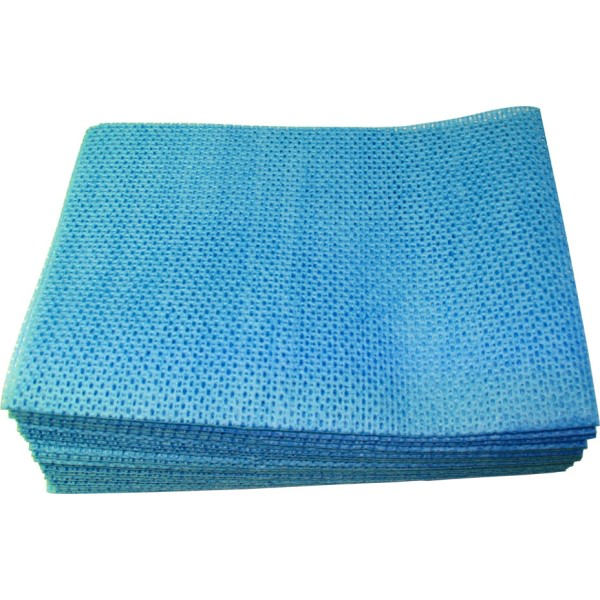 NOVETTE SUPER-Heavy Duty Antibacterial Cloths (PKT 25) Blue