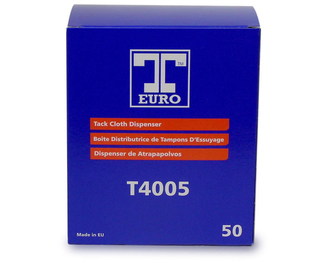 Dispener Pack of 50 T-Euro Cotton Tack Cloths