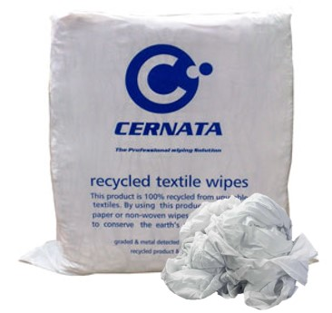 White Cotton Sheeting Rags - 100% Cotton Rich 10kg